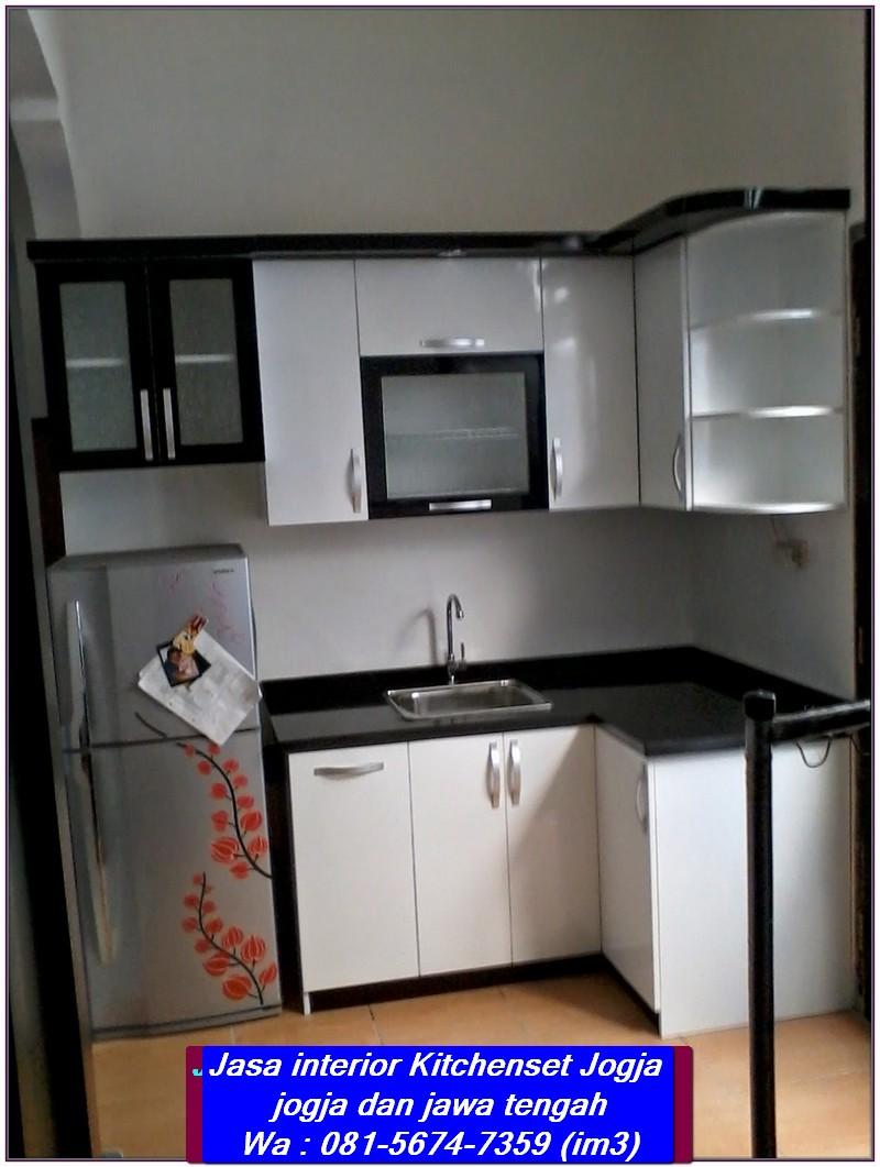 081 5674 7359 im3 jasa kitchenset jogja biaya pembuatan kitchen set