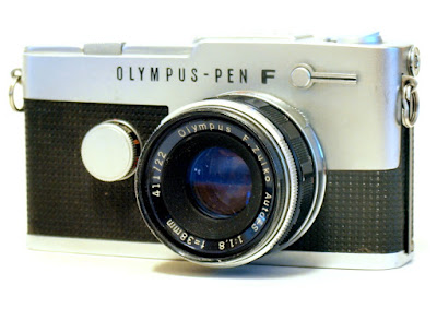 Olympus Pen FT, F.Zuiko Pen 38mm F1.8