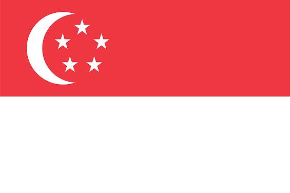 mewarnai gambar bendera negara singapura contoh anak paud mewarnai gambar