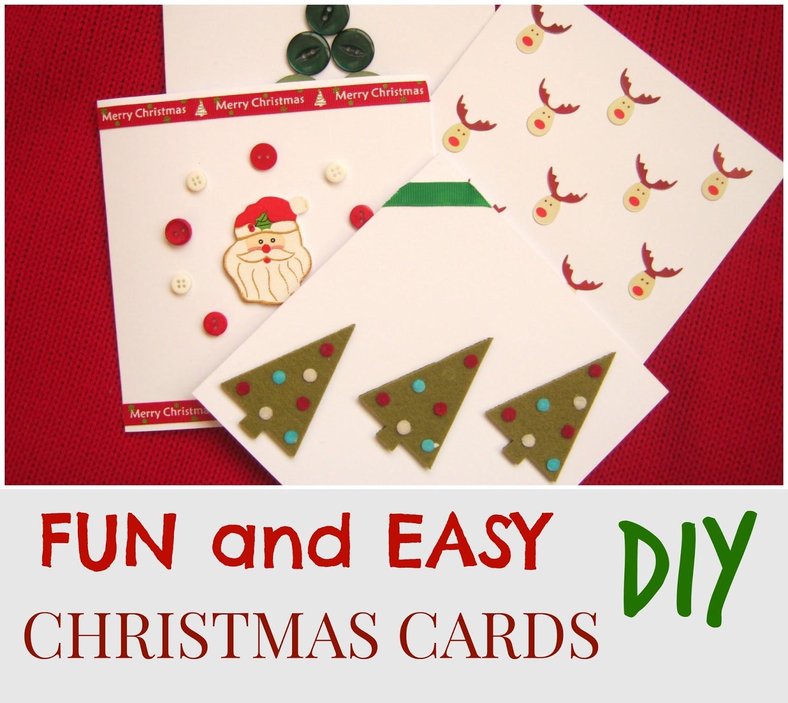 shona louise fun and easy handmade christmas cards