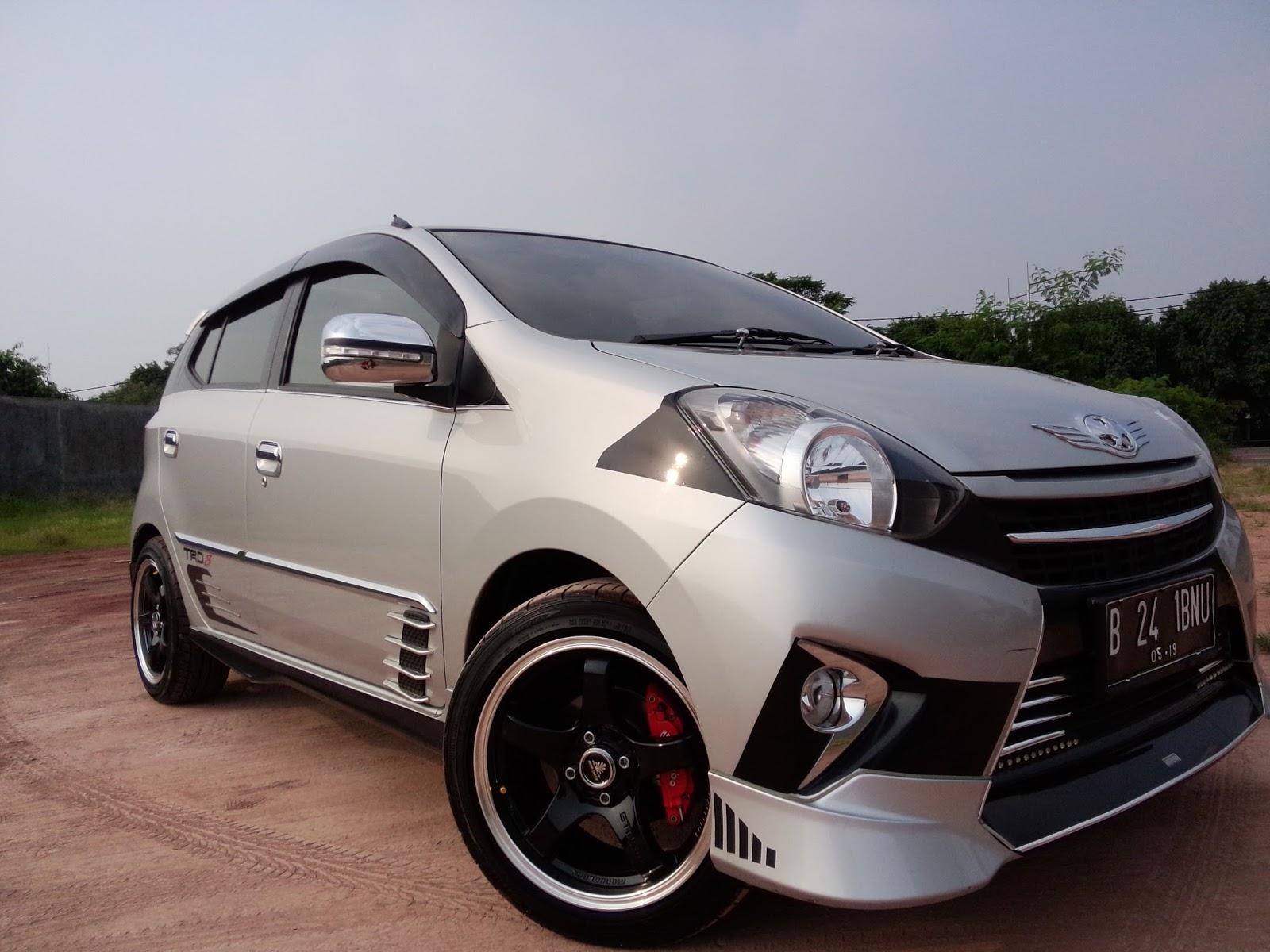 Kumpulan Modifikasi Mobil Agya Warna Putih 2018 Modifikasi Mobil Avanza