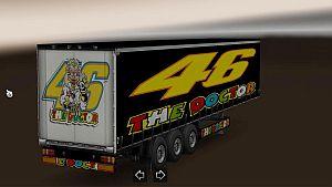Valentino Rossi Profiliner trailer skin