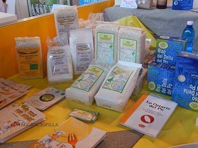 Il riso biologico e la farina di riso a Golosaria