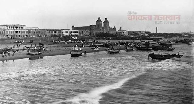कैमरे ने वो देखा जो किसी ने नहीं देखा, Marina Beach Chennai 1891