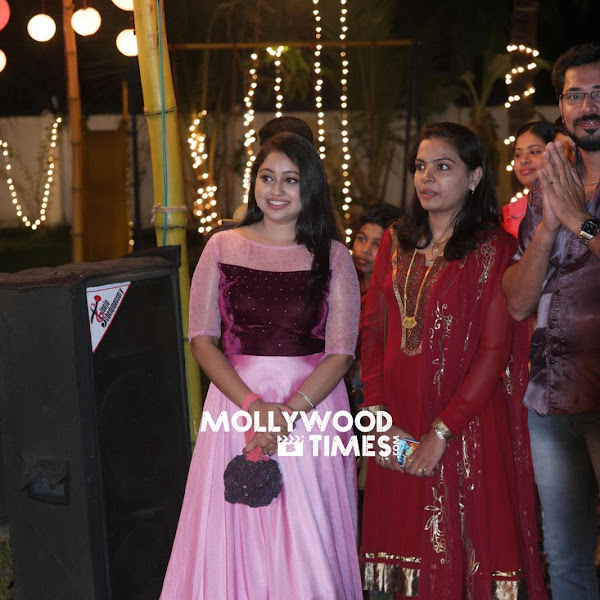 Meghna Vincent latest photos from Dimple Rose Engagement