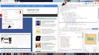 Tampilan dari Desktop ke Mobile 1