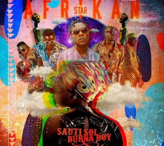 Sauti Sol Ft. Burna Boy - Afrikan Star (African Star)