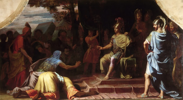 Alexander_the_Great_Receiving_News_of_th
