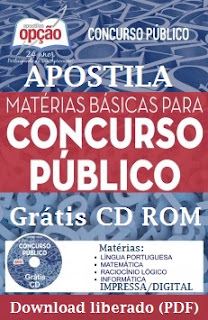 Apostilas para concurso 2017 Grátis PDF.