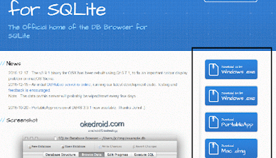Situs Web DB Browser for SQLite