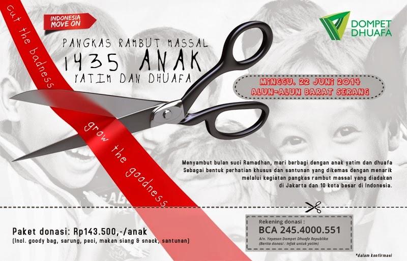 #Acara Sambut Ramadhan 1435 H Dengan Bercukur