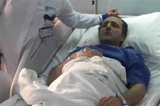 نجاح عمليه شريف مدكور واستقرار الحاله الصحيه  متابعة /وفاء عبد السلام