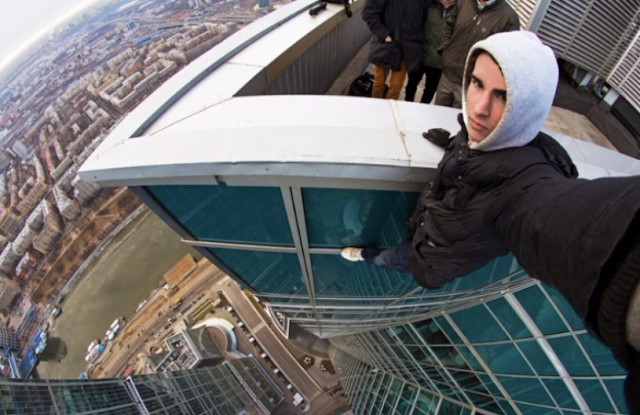 Selfie at Highest Roof