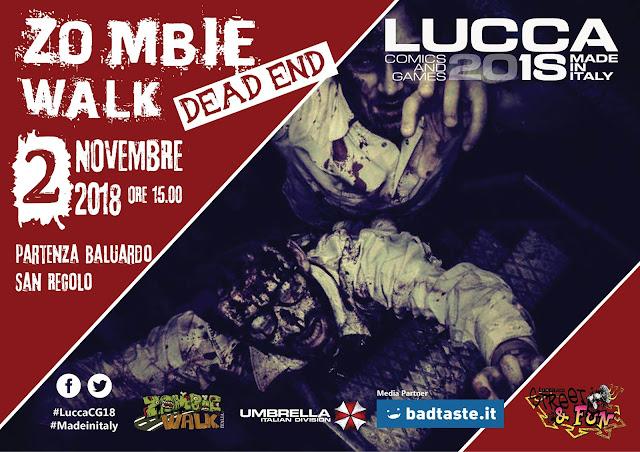 Zombie WALK - Lucca Comics 2018