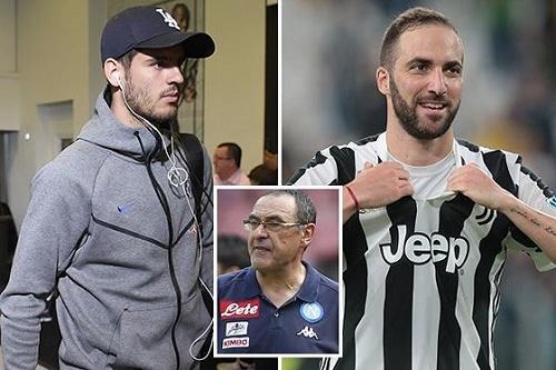 Đội tuyển Juventus muốn đổi tiền đạo với Chelsea