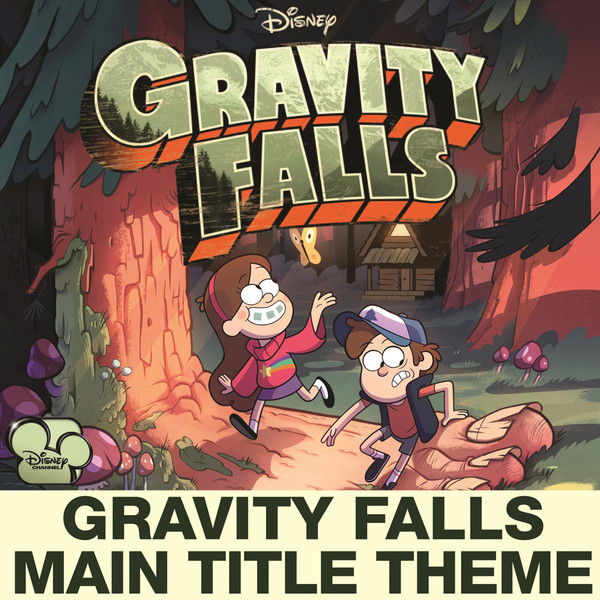 "Brad Breeck - Gravity Falls Main Title Theme (from ""Gravity Falls"") - Single Cover"