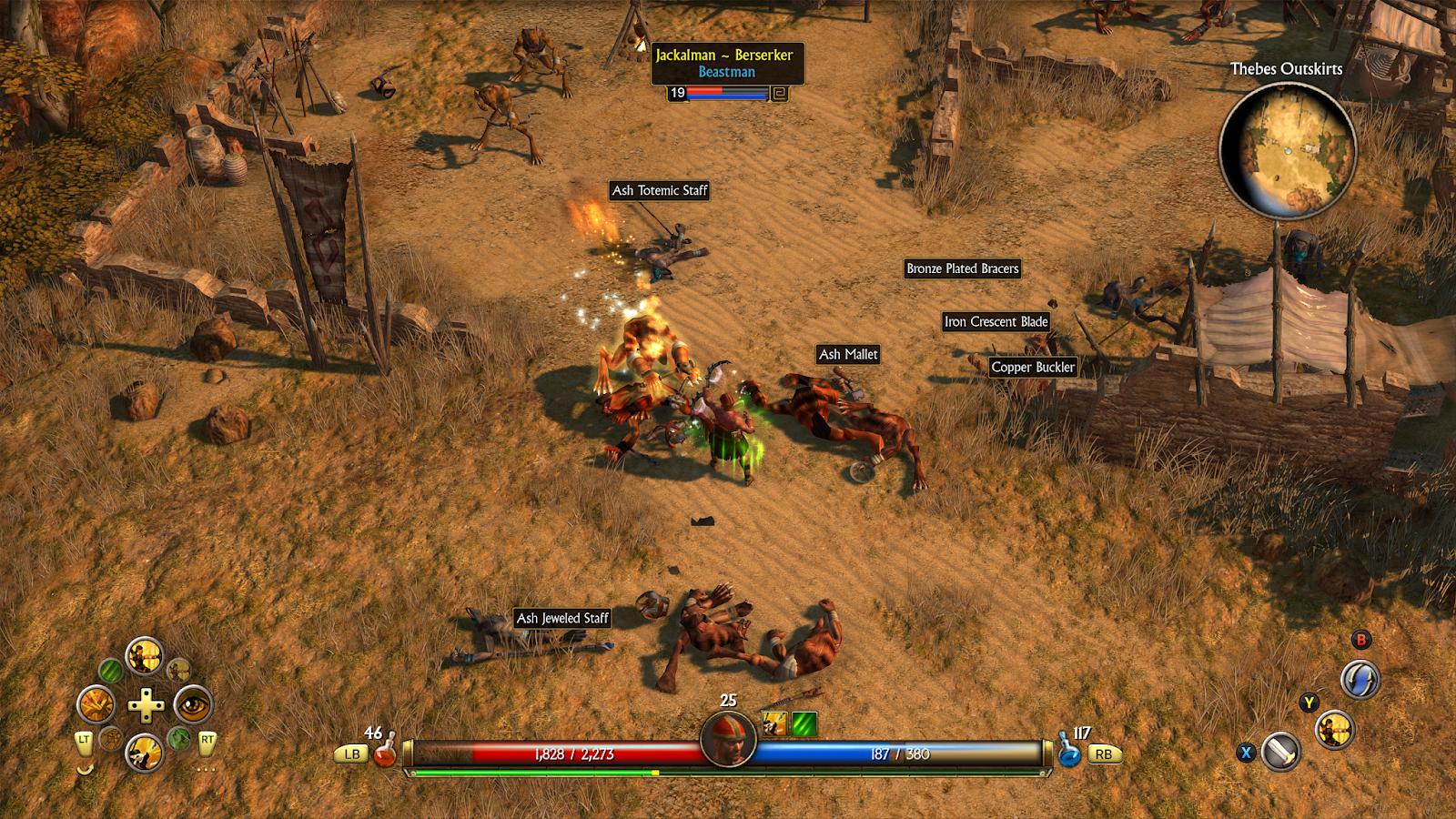 Titan Quest (Xbox)