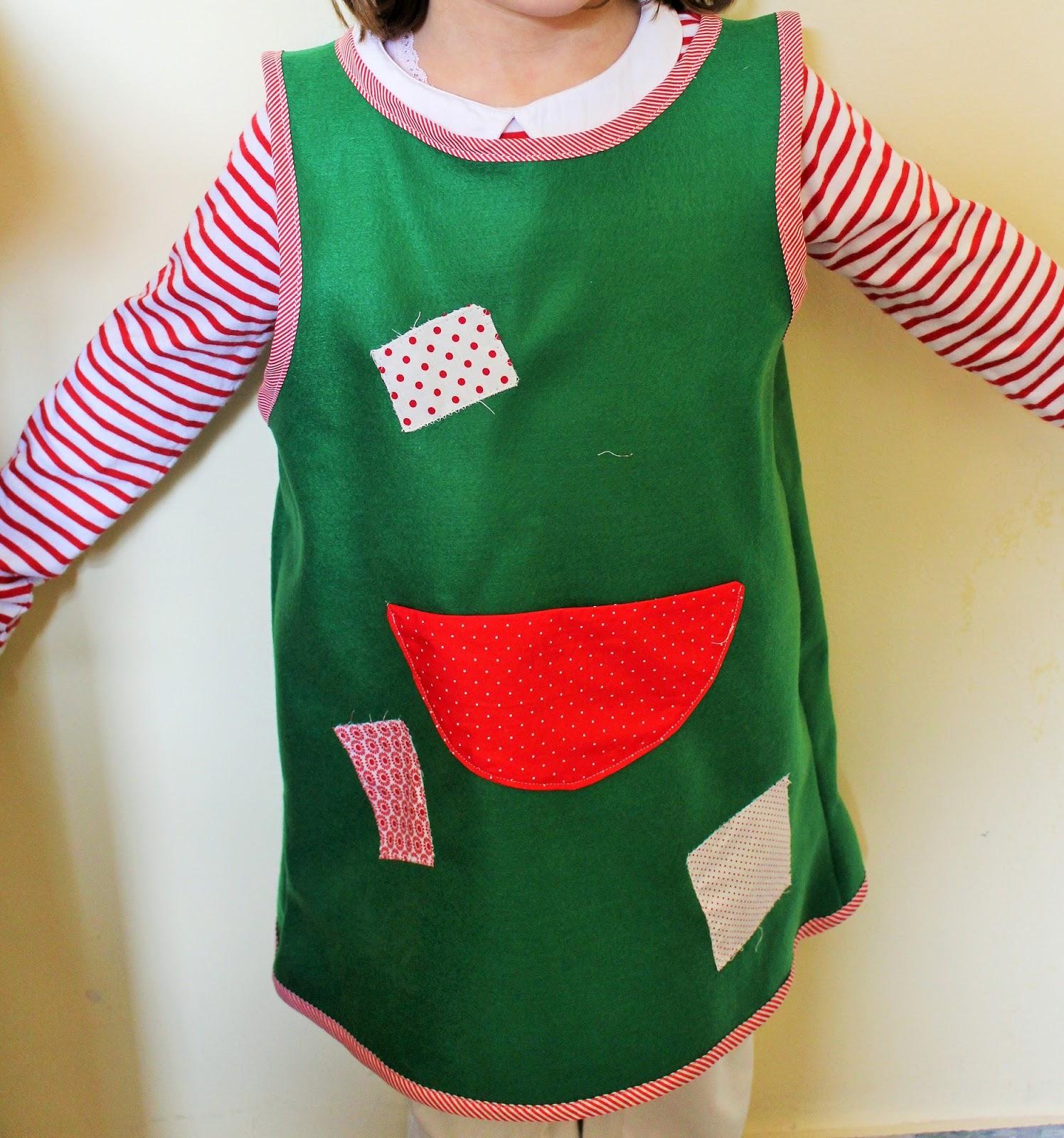 250bf47f7e09 Con pochi euro e in meno di mezz ora potrete trasformarla in una perfetta  Pippi Calzelunghe! Occorrente  Un vestito da usare come cartamodello.