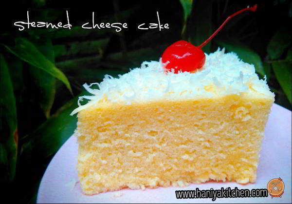 Resep Cheese Cake Kukus Sederhana ( Steamed Cheese Cake)