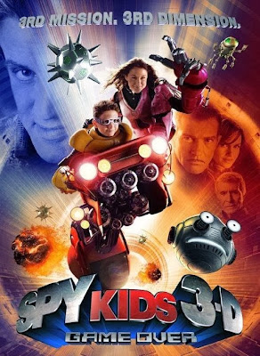 Poster Of Spy Kids 3 (2003) In Hindi English Dual Audio 300MB Compressed Small Size Pc Movie Free Download Only At worldfree4u.com