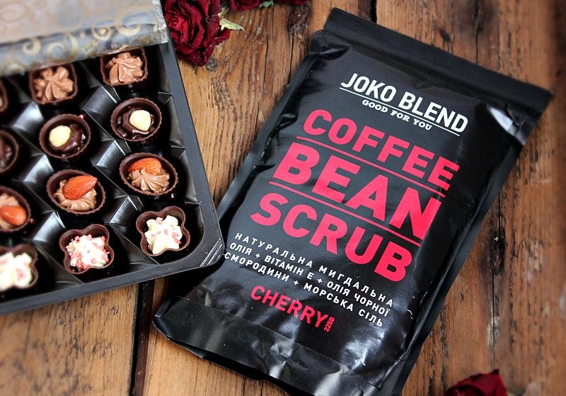 Кофейный скраб Joko Blend Coffee Bean Scrub Cherry / отзывы, обзор