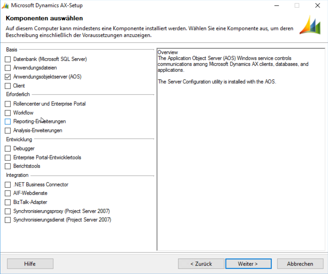 Ax pre requisites to install dynamics ax 2009 and enterprise portal - Ax 2009 Setup Do You Still Remeber This Setup It S So Confusing When You Start To Install 2009 Environments Again