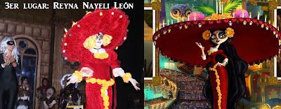 """Reyna Nayeli Leon con cosplay de """"El Libro de la Vida"""" gano el tercer lugar"""