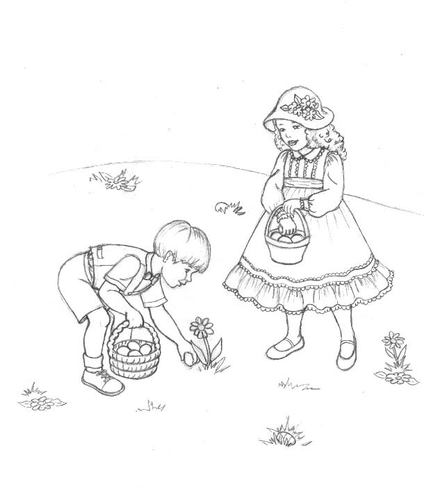 Easter Coloring Pages: February 2012