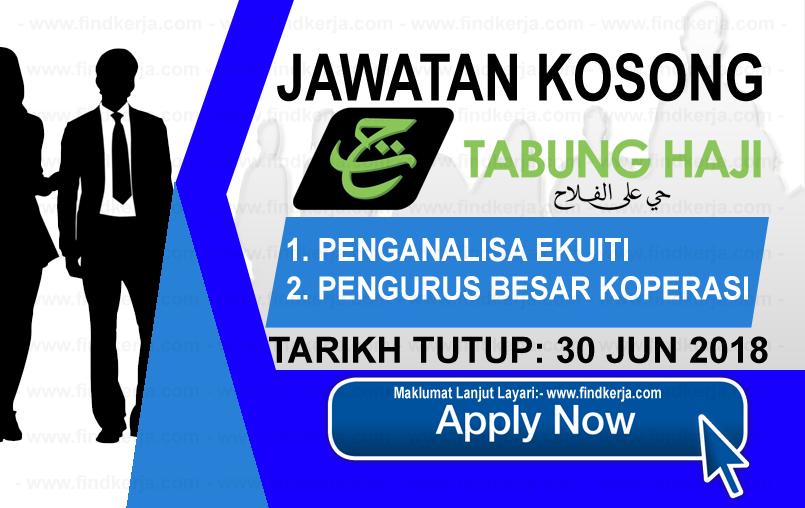 Jawatan Kerja Kosong TH - Lembaga Tabung Haji logo www.findkerja.com www.ohjob.info jun 2018