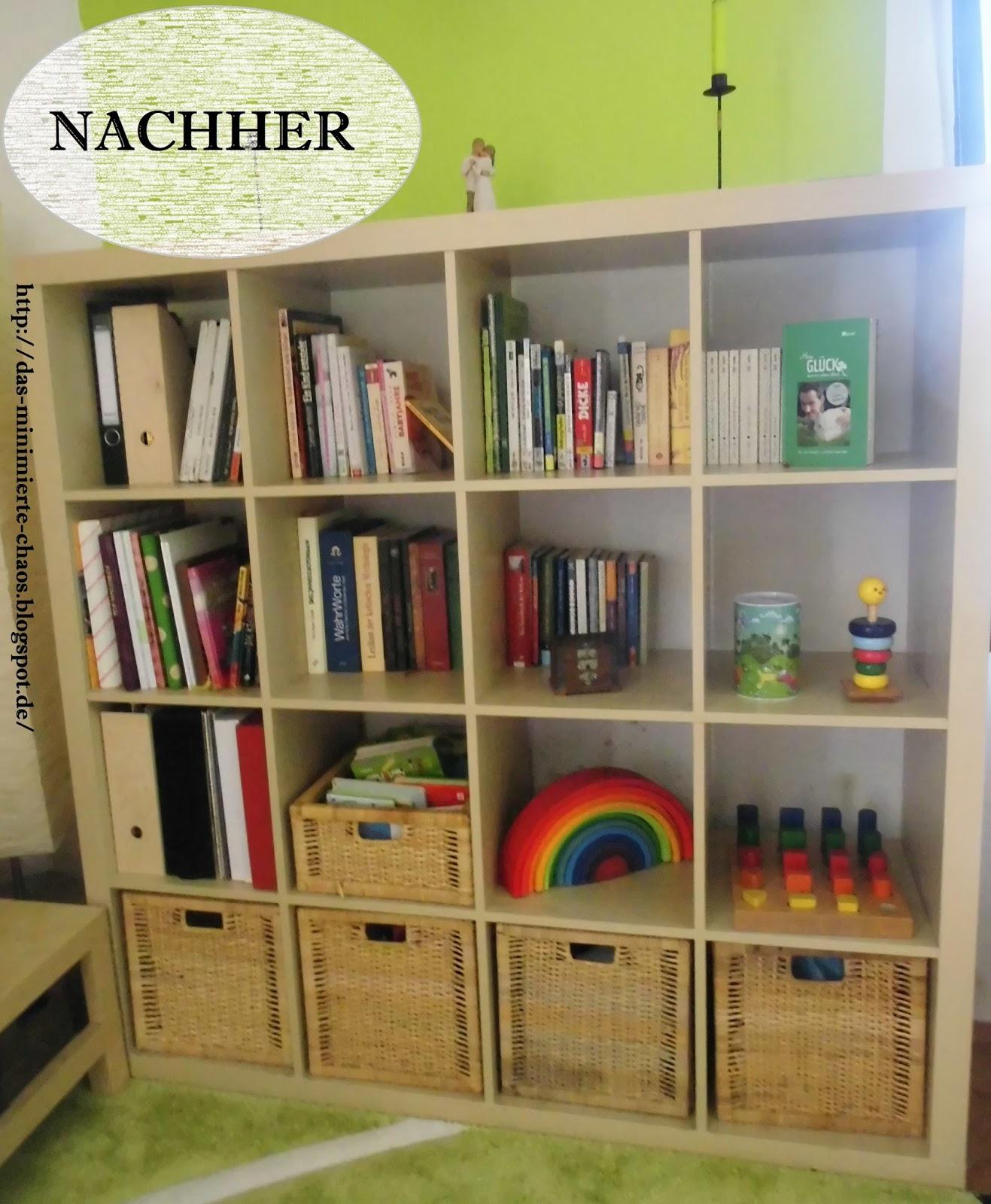 frau k und der weg zu ordnung organisation und minimalismus vorher nachher wohnzimmer. Black Bedroom Furniture Sets. Home Design Ideas