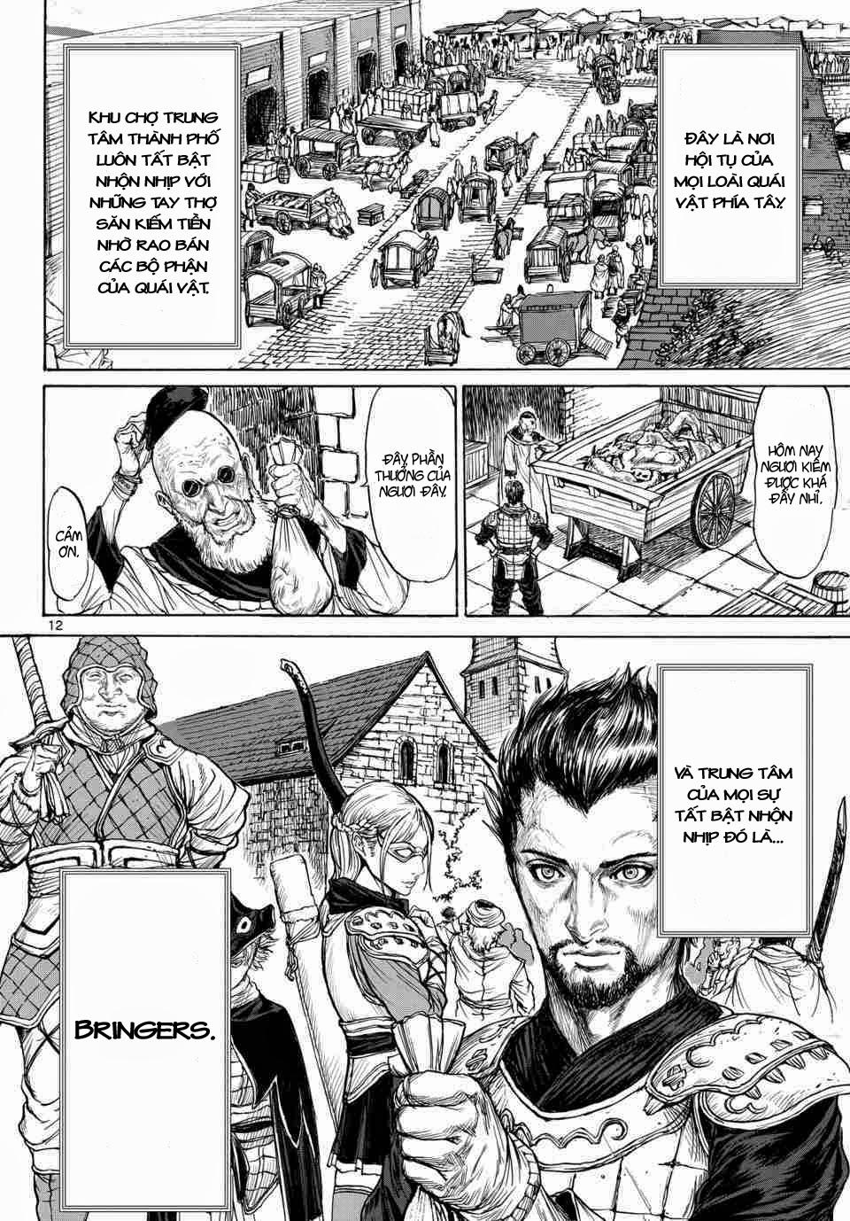 Monster X Monster chapter 1a trang 11