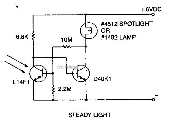 Make a Warning Light and Marker Light Circuit Diagram