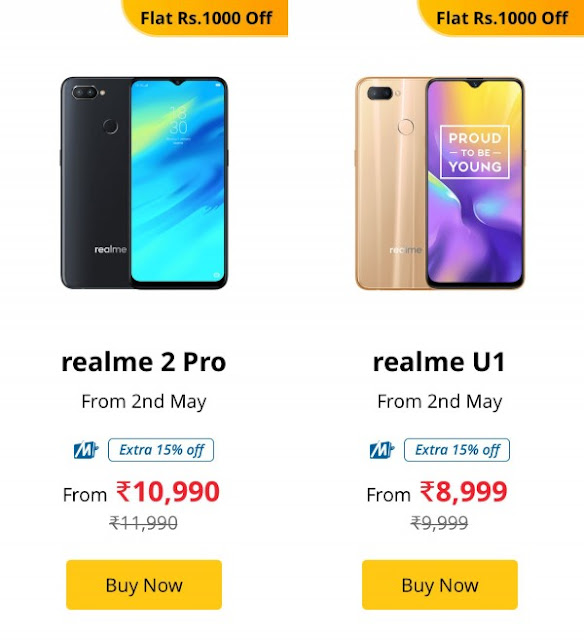 Realme celebrates its first birthday with flash sales, price cuts, and giveaways