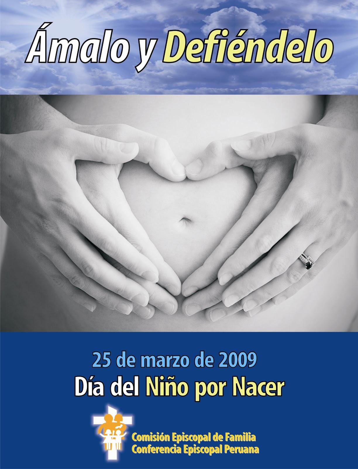 Feliz Día Del Niño Por Nacer 25 De Marzo 13 Fotos