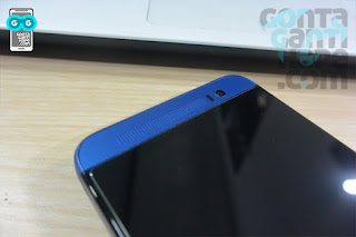 HTC One E8 - speaker bagian atas