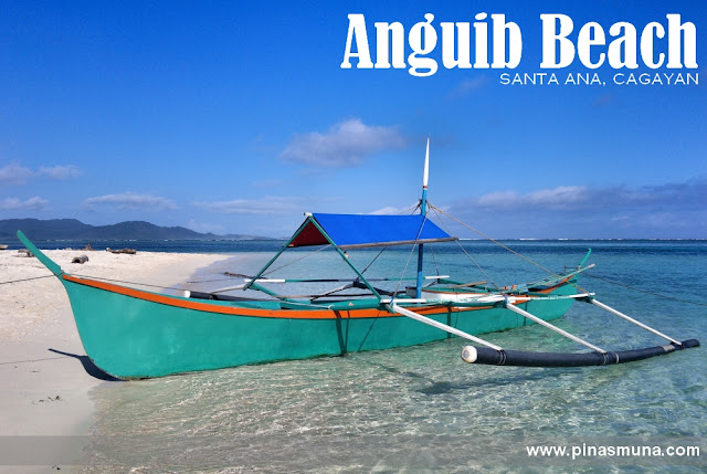 boat docked at Anguib Beach of Santa Ana, Cagayan