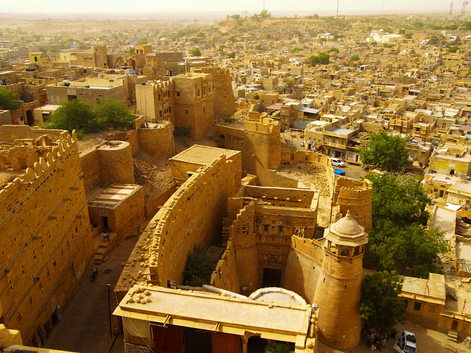 Jaisalmer-Rajasthan-Wallpapers - Tourist places in India wallpapers and Images HD pictures