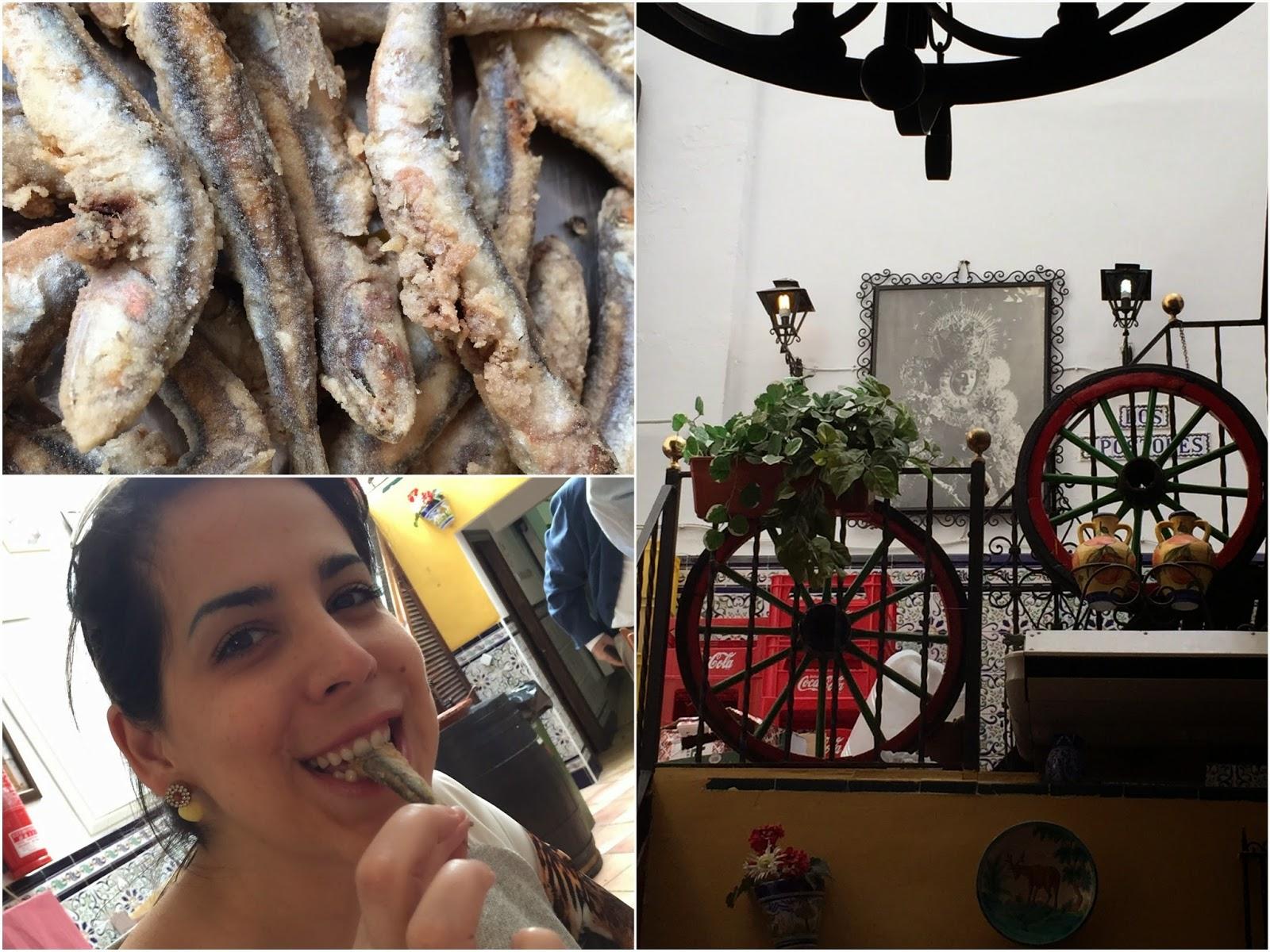 Sevilla, Seville, boquerones
