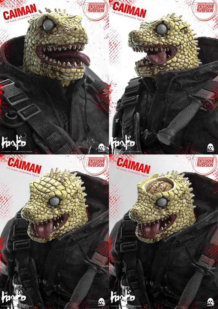 "Stylized - NEW PRODUCT: ThreeZero: 1/6 ""Alien Monsters/Dorohedoro""-Caiman Animation Edition Dorohedoro-Caiman-Threezero-Exclusive-03"