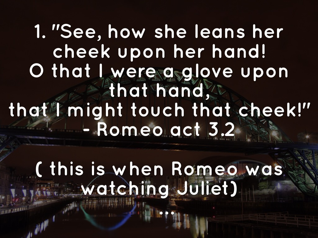 10 Famous Love Quotes from Romeo and Juliet