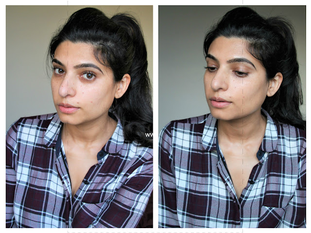 MAC Next to nothing face colour on indian skin