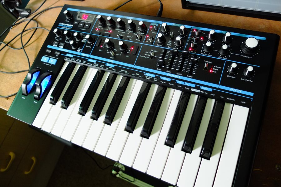 Novation Bass Station 2 : paul 39 s guitar gear novation bass station ii ~ Hamham.info Haus und Dekorationen
