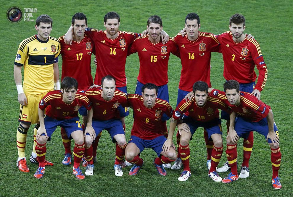 2524fb1068 Retrato na Parede  Espanha Campeã Euro-2012