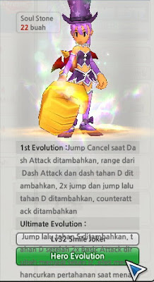 Smile Joker Evolution Lost Saga Indonesia