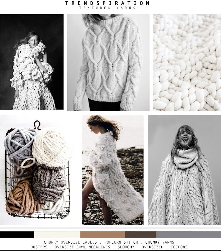 TRENDSPIRATION // TEXTURED YARNS . AW 2015-16