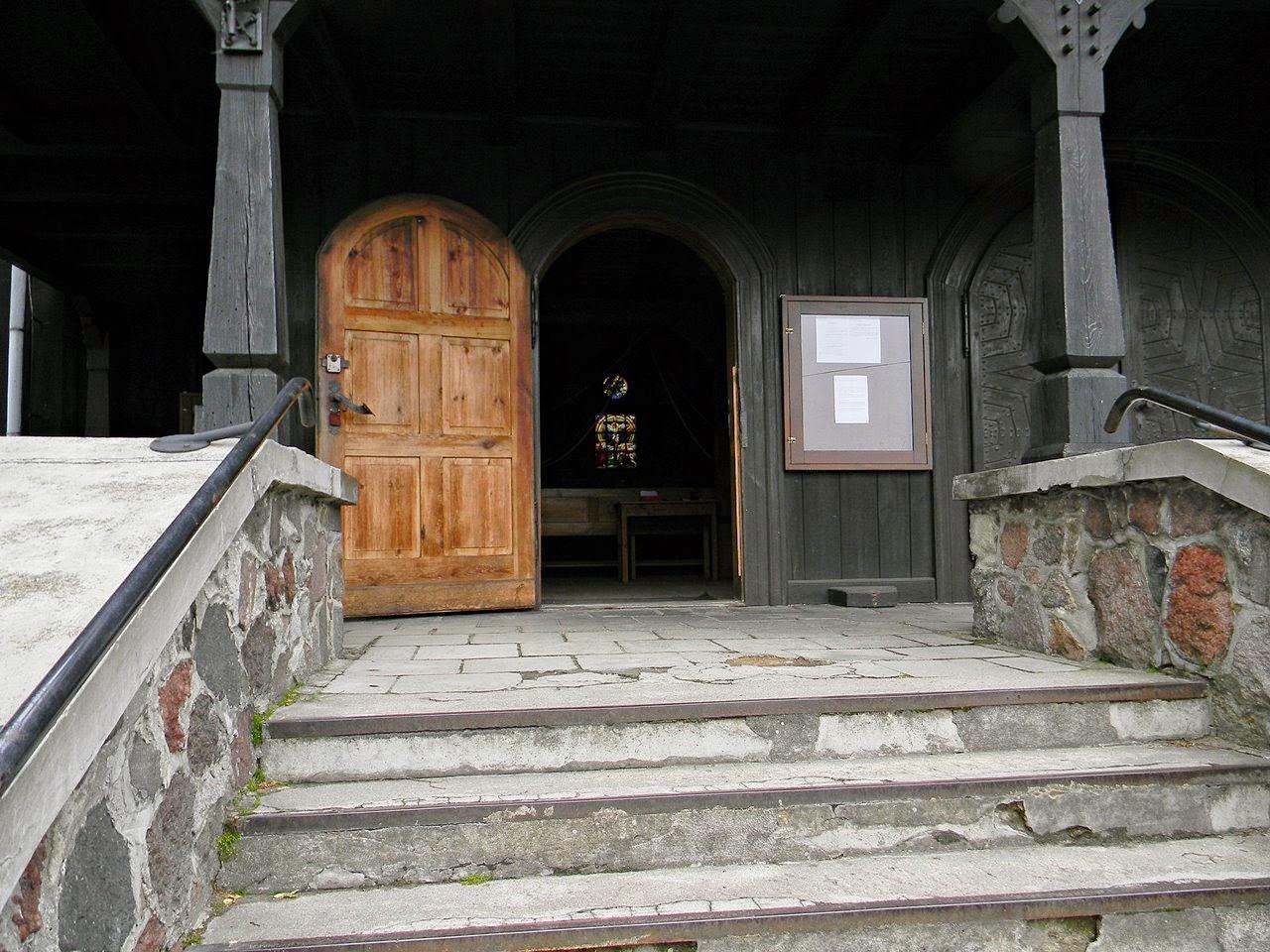 Bukowiec, drewniany kościół, zabytek