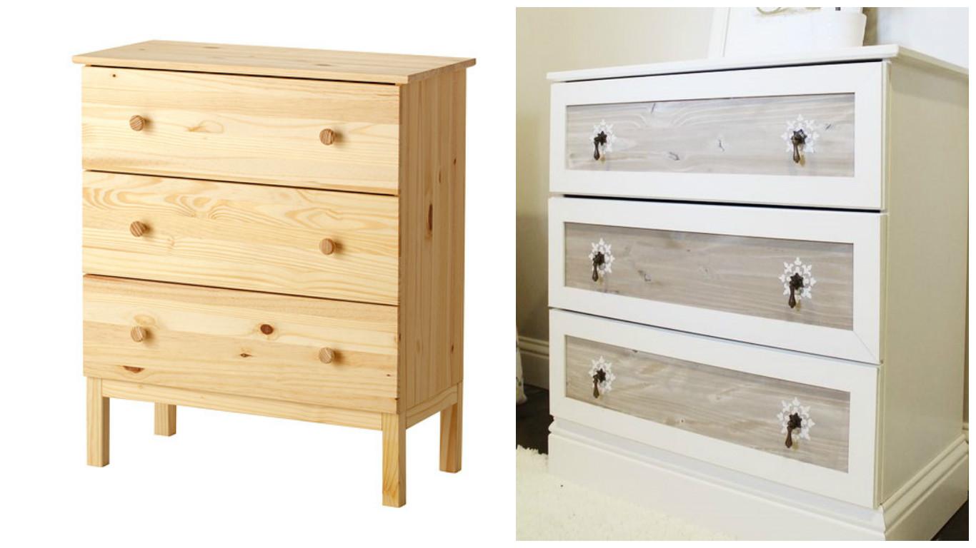 Ikea hacks que te sorprender n decoshabby - Ikea mesillas y comodas ...