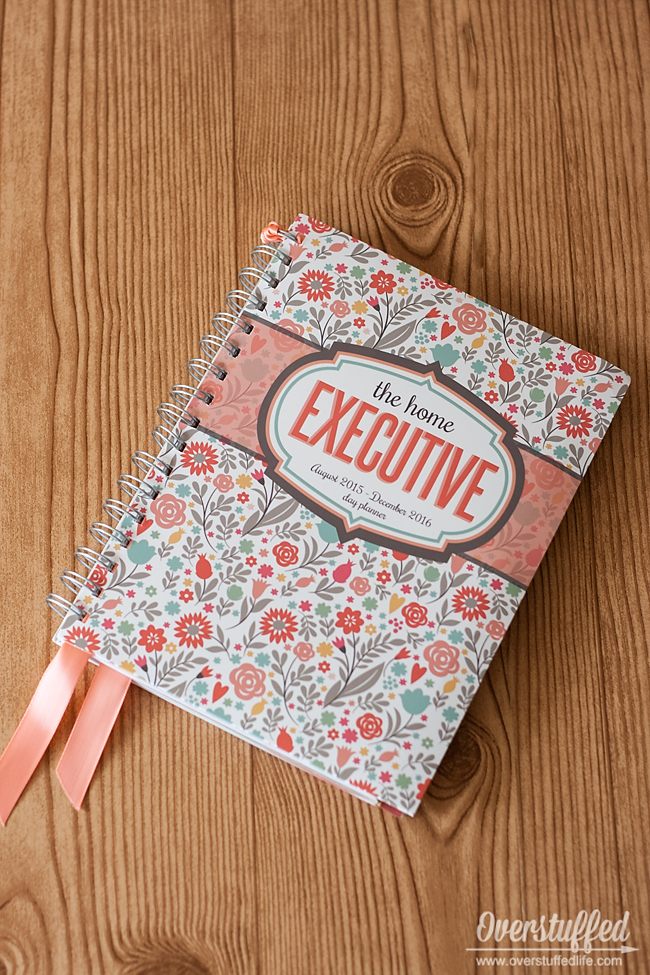 The Home Executive Planner 2015-2016