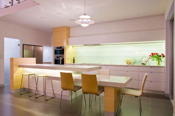 Hogares frescos conectividad interior exterior casa - Casas modernas interior ...