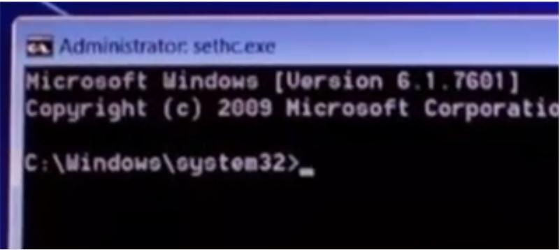 Cara Reset Semua Pasword Windows 7 tanpa software